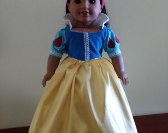 Looks like Snow White for your 18 inch dolls