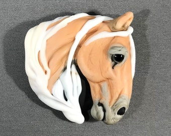 NEW! Horse Focal Lampwork Glass Bead - Exquisite Equine Collection