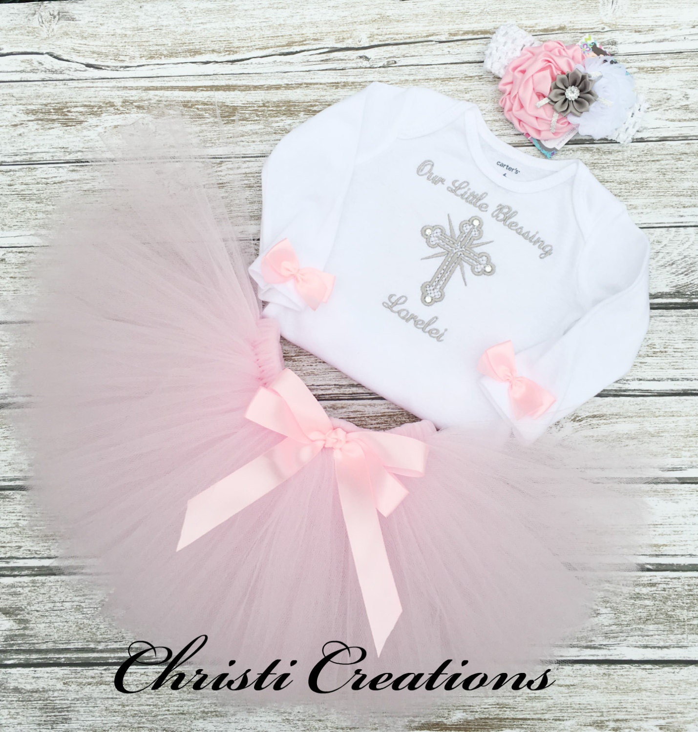 Baby Girl Baptism Dress Christening Outfit Baby Dedication
