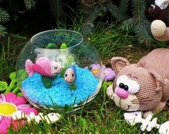 little kitty, crochet pattern by mala designs ®