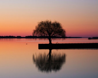 Sunrise in the Hamptons - Colorful Landscape Photo Print