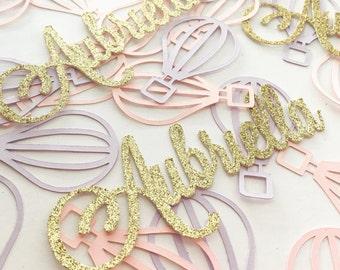 Name Confetti, Custom Confetti, Personalized Confetti, Custom Name Confetti, Personalized Name confeti, First Birthday Confetti