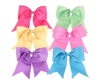 12 Pieces ASSORTED Tail Hair Bow, monogram hair bow, personalized bow, monogram, initial hair bow, girls hair bow, embroidered hair bow