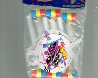 hot wheels 6 blowouts noisemakers