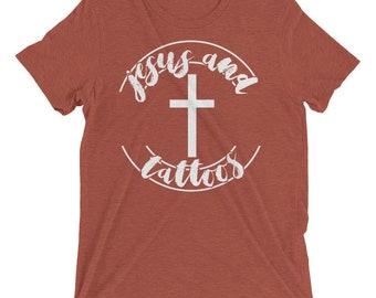 Jesus & Tattoos Short sleeve t-shirt