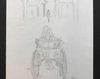 Original It Follows Sketch