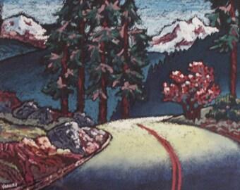 "Limited Ed S/n Print ""NORTHWEST ROAD"" by Brett Varney"