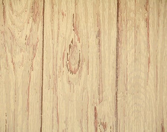 Retro Wallpaper by the Yard 60s Vintage Wallpaper - 1960s Tan Woodgrain Faux Finish Wood Paneling