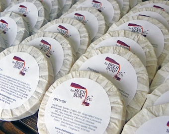 25 Beer Soap Wedding Favors by The Beer Soap Company