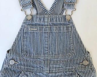 Vintage Gap Kids Striped overalls