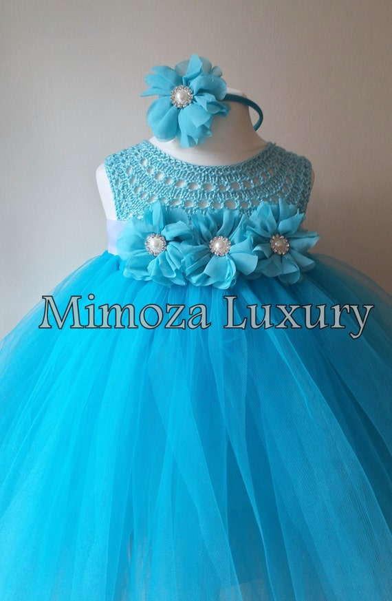 Frozen Tutu, Princess Elsa, Snow Princess, Frozen Costume, Frozen Party, Winter Wonderland Tutu, Blue Turquoise Tutu, Disney Frozen