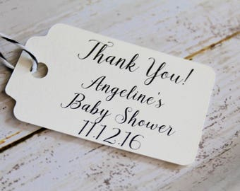 Thank You Baby Shower,  Bridal Shower Tags, Baby Shower Tags. Favor Tags, Wedding Favor Tags, Wedding Tags, Gift Tag, Hang Tag, Thank You