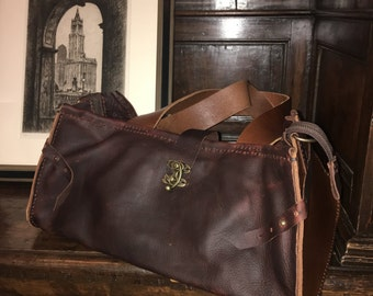 Bordeaux bag, Handmade leather purses, Custom made leather handbags, Over the shoulder bags, Burgundy purse, Over the shoulder handbags