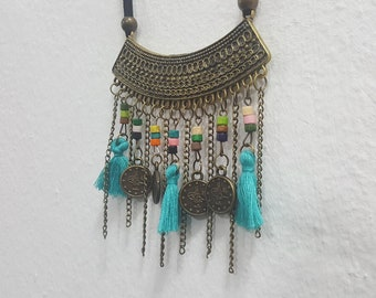 Tribal Necklace bohemian style jewelry womens necklace ethnic jewelries