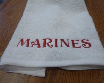 Marines Golf Towel