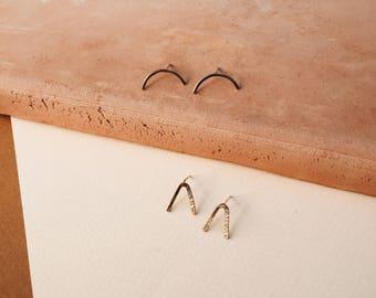 Tiny Stud Earrings Gold Filled Stud Earrings Sterling Silver Stud Earrings Minimalist Earrings