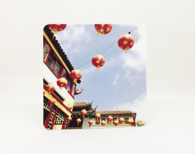 IN STOCK - Chinese Paper Lanterns Night Light for Child's Room, Playroom, Chinatown Decor