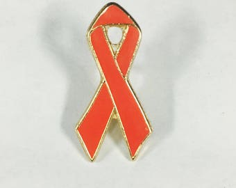 Aids Awareness Lapel Pin