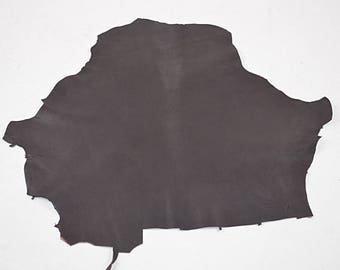 Dark Brown Velvet Goat Leather Coupon