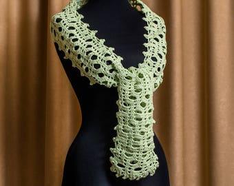 Easy Crochet Scarf Pattern, Crochet Shawl, Crochet Shawl PATTERN, Crochet Pattern Scarflette, Crochet Shawlette, Beginner Crochet /1003/