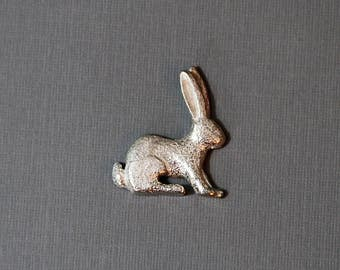 Sterling Silver bunny Pin
