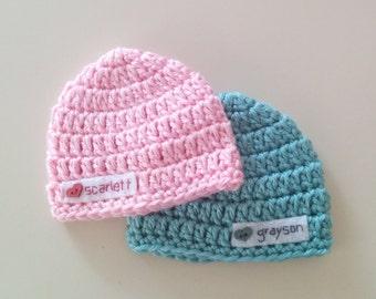 Personalized Preemie Hat