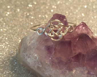 Celtic knot ring, Pagan, paganism, pagan jewelry, celtic