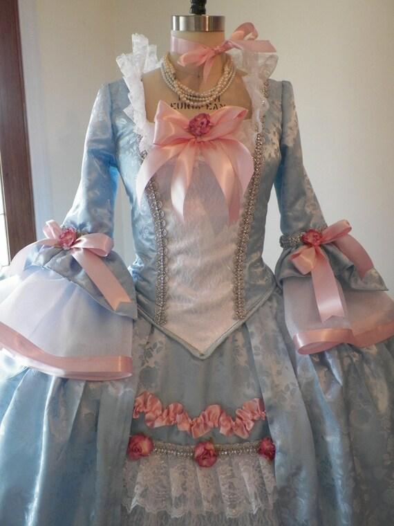 Marie Antoinette Dress,Marie Antoinette Costume, Marie Antoinette Halloween Costume,Venice Carnival Costume, Ball Dress, Mardi Gras Costume,