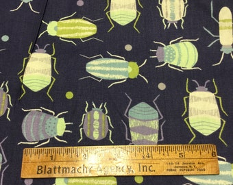 Bugs and Dots Fabric - EWW - LAST PIECE!