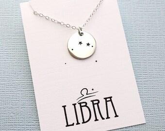 Libra Jewelry | Libra Necklace, Zodiac Jewelry, Zodiac Necklace, Constellation Necklace, Astrology Jewelry, Zodiac Sign Necklace, Zodiac