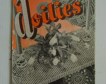 Favorite Doilies 1945 crochet and cross stitch