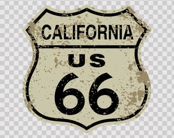 Decals Stickers Route 66 Us California Motorbike Sports Helmet sports decoration racing 09667