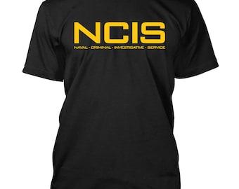 NCIS logo T-shirt Naval criminal Investigative Service Tv Show fan Tee Shirts S-3XL