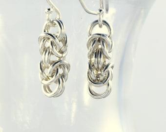 EAB - Sterling Byzantine Earrings
