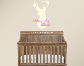 "Dream Big Little One Decal 20"" Dream Big Little One Wall Decal 