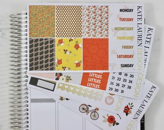 Fall Deluxe Sticker Kit, Fall Planner Stickers, Fall Kit, Autumn Stickers, Autumn Planner Stickers, Autumn Kit, Autumn Deluxe Kit