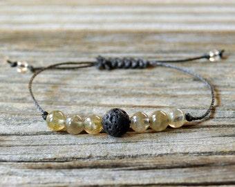 Diffuser Bracelet, Labradorite Bracelet, Beaded Diffuser, Essential Oils, Oil Diffuser, Yoga Bracelet, Meditation Bracelet, Healing Bracelet