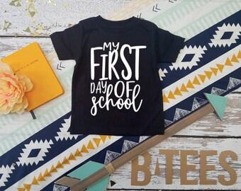 First day of school shirt / Kindergarten shirt / Grade 1 Shirt / Grade 2 Shirt / Grade 3 Shirt / All AGES!