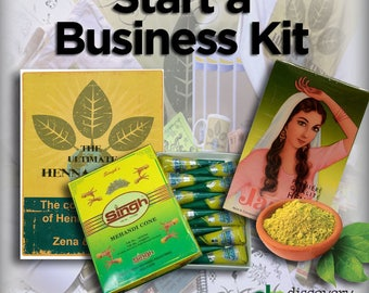Start a Henna Business Kit