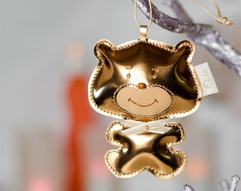 LeatherBear|Car|Accessories|Gift For Her|Rear View Mirror Charm|Unique Gifts for womens