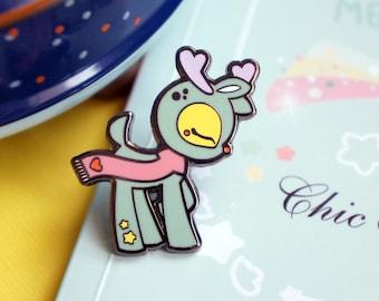 Chic Kawaii lovely Christmas pin, super cute