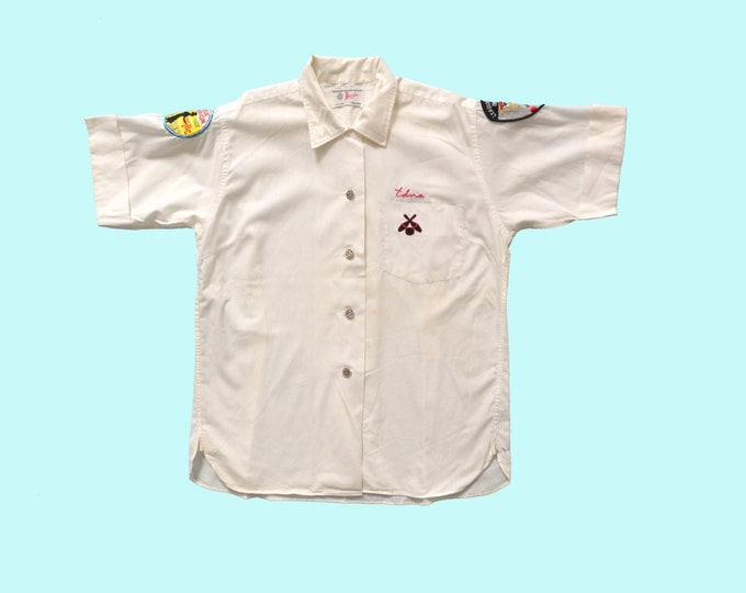 1960s Ladies Bowling Champion Shirt