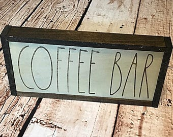 Coffee Bar Sign - Coffee Bar Decor - Coffee Sign - Coffee Kitchen Decor - Wood Coffee Sign - Rustic Coffee Sign - Coffee Shop Decor