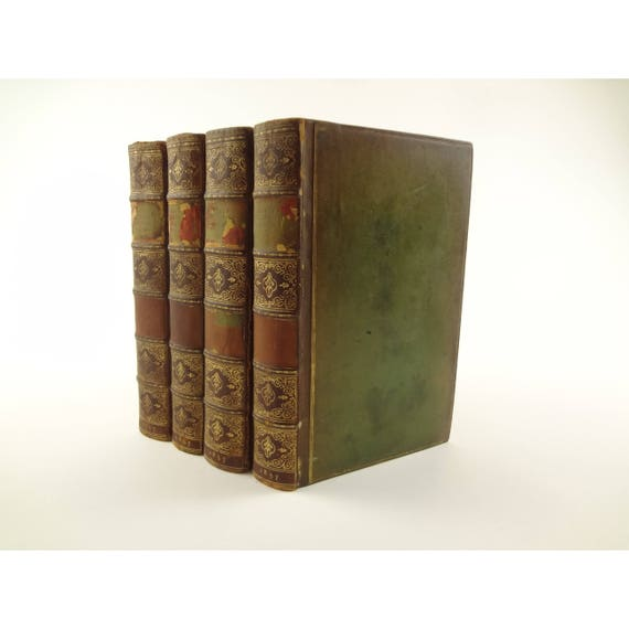 1837 Miscellaneous Works of Oliver Goldsmith. Complete in four volumes
