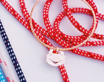 Sooks and Jimmies Nantucket Basket Necklace supporting Special Olympics Sailing
