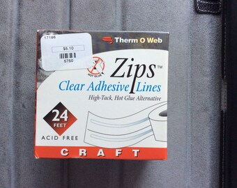 Zips Clear Adhesive Lines