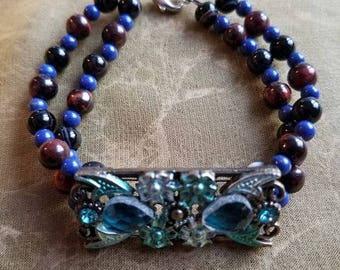 Mixed Stone Beaded Bracelet