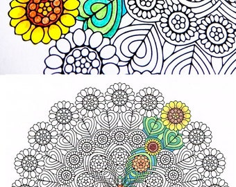 Printable Coloring Pages For Adults Page