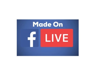 Made on Facebook Live on 3/11/2018
