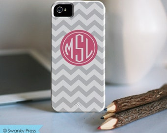 iPhone 7 Personalized Case  - Chevron monogram  - other models available